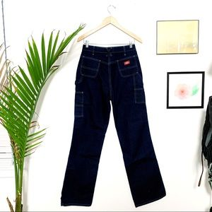 Vintage Jeans - Dickie's Carpenter Jeans High-Waisted 90s - 8 Tall